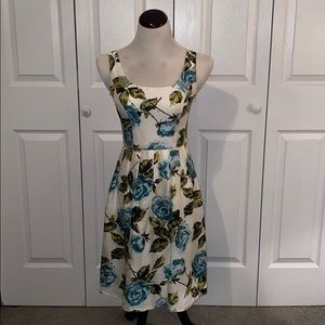 Ann Taylor Petites Fit and Flare Dress